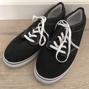 black and white womens vans sneakers new